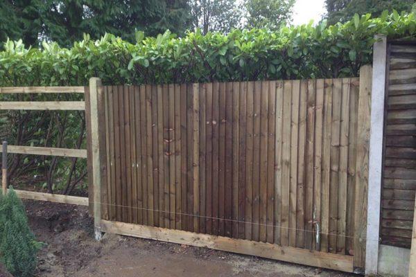 Arris Rail fencing Tunbridge Wells