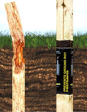 Fencing Kent soil section Postsaver